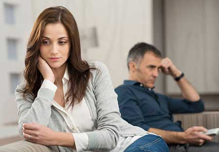 بدبینی و بدگمانی نسبت به همسر