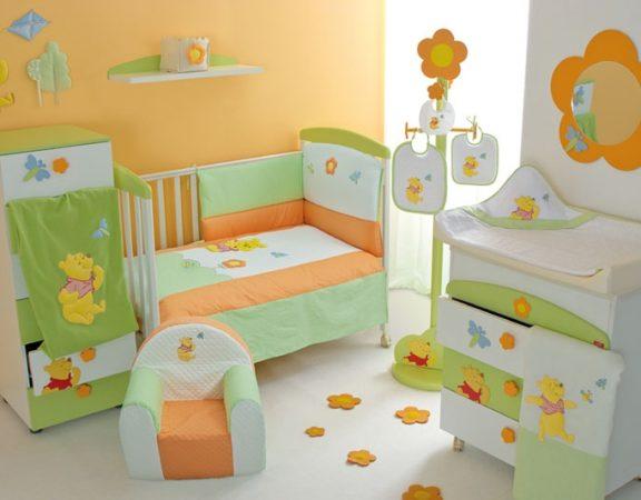 رنگ های شاد را در اتاق کودک