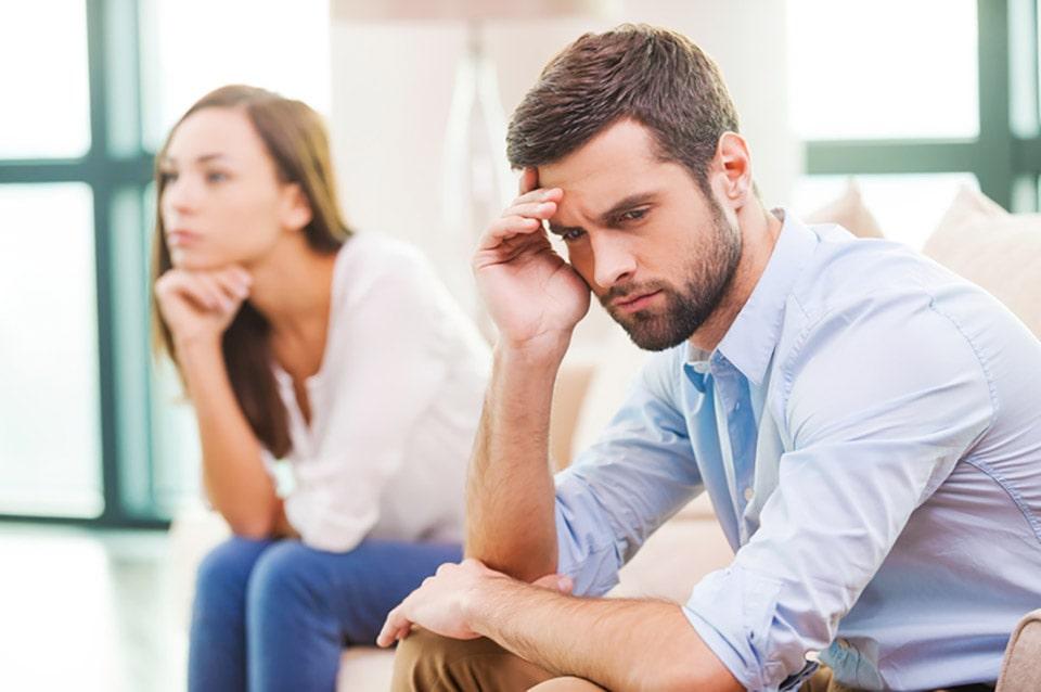 درمان افسردگی بعد از خیانت همسر